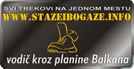 STAZE I BOGAZE - vodic kroz planine Balkana